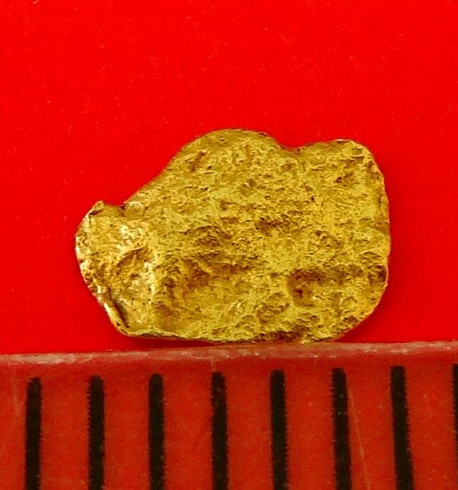 XXL GOLDNUGGET 5,1 mm Goldnuggets Nugget Barren Gold